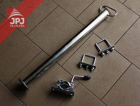 Potporna nožica s držačem za prikolice