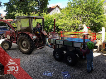 ATV prikolica Profi-radnik i kompaktni traktor