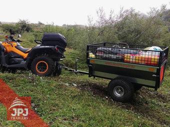 ATV prikolica vrtlar za quad