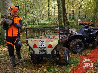 ATV prikolica i radni quad
