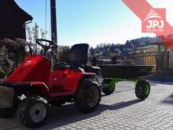 prikolica za atv i vrtni traktor
