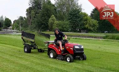 prikolica iza vrtne traktore