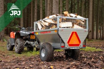 Jednoosovinske ATV prikolice za četverokotače